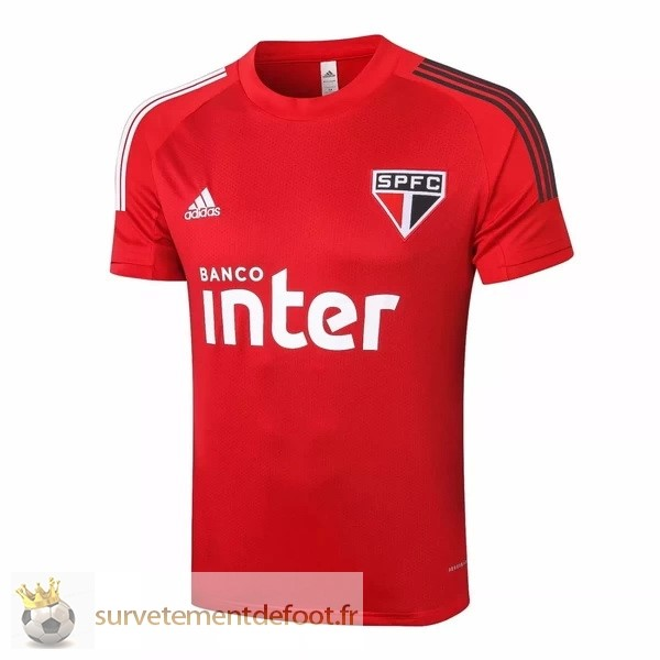 Maillot Entrainement Sao Paulo Equipement 2020 2021 Rouge