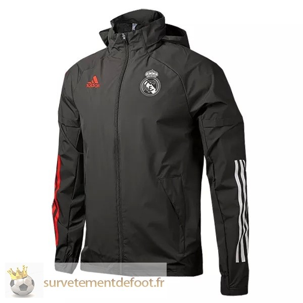 Coupe Vent Real Madrid Equipement 2020 2021 Noir