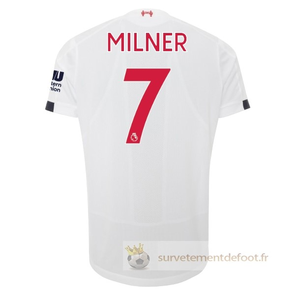 NO.7 Milner Maillot 2rd Liverpool Equipement 2019 2020