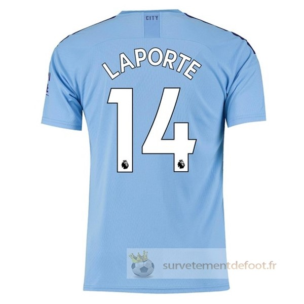 NO.14 Laporte Maillot 1rd Manchester City Equipement 2019 2020
