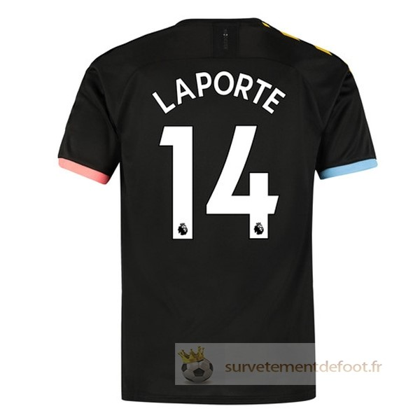 NO.14 Laporte Maillot 2rd Manchester City Equipement 2019 2020