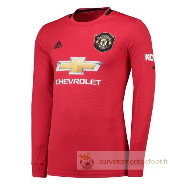 Maillot 1rd Manches Longues Manchester United Equipement 2019 2020