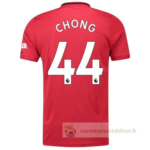NO.44 Chong Maillot 1rd Manchester United Equipement 2019 2020