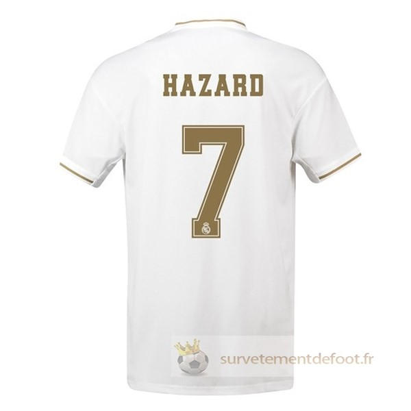 NO.7 Hazard Maillot 1rd Real Madrid Equipement 2019 2020