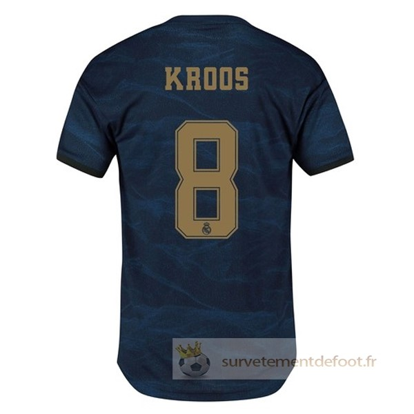 NO.8 Kroos Maillot 2rd Real Madrid Equipement 2019 2020