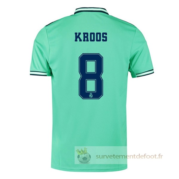 NO.8 Kroos Maillot 3rd Real Madrid Equipement 2019 2020