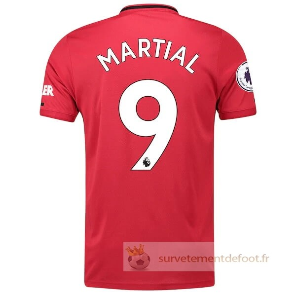 NO.9 Martial Maillot 1rd Manchester United Equipement 2019 2020